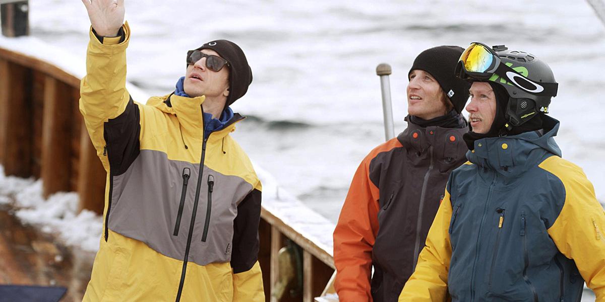 Terje Håkonsen, Torgrim Vole and Åsmund Thorsen